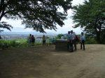 蘇我氏の人たちも、この甘樫丘の頂上によく登ったと推定されている