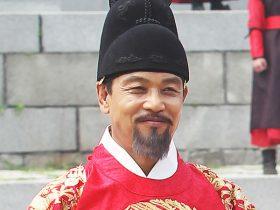 『王女の男』で世祖を演じたキム・ヨンチョル