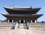 景福宮(キョンボックン)の正殿の勤政殿(クンジョンジョン)