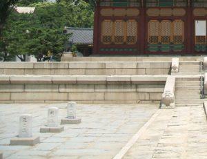 綾陽君は西宮(現在の徳寿宮)の中庭で仁穆王后から光海君の斬首を要請された