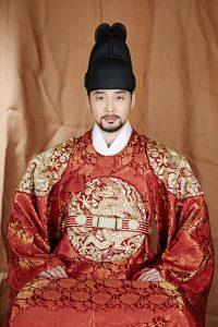 ドラマ『華政』で仁祖を演じたキム・ジェウォン