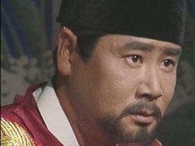 ドラマ『龍の涙』で太宗を演じたユ・ドングン